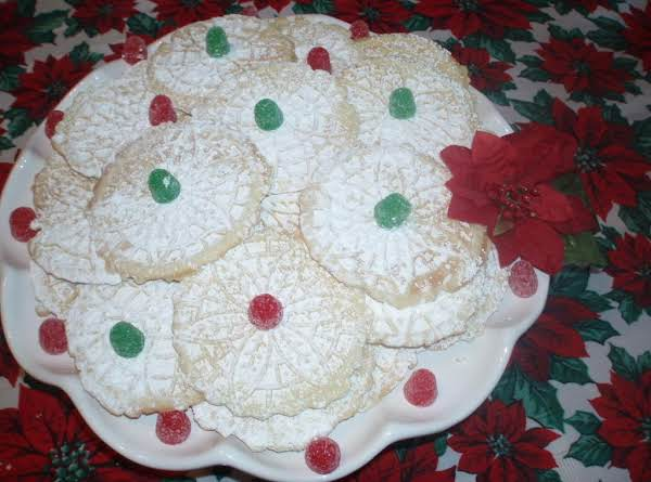 A Lovely Light Crisp Italian Cookie That Will Be On Your Baking List For Every Holiday ~~~