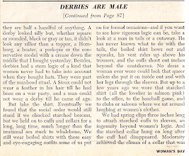 Photo: page 4 of Derbies Are Male