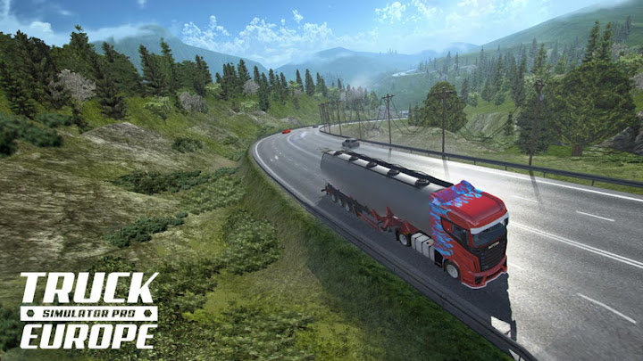 Truck Simulator PRO Europe Android App Screenshot