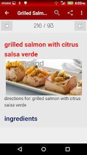 salsa naptár Fish Recipes   cook Professional – Alkalmazások a Google Playen salsa naptár