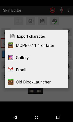 Skin Editor for Minecraft 2.2.6 screenshots 6
