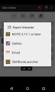 Skin Editor for Minecraft v2.2.2