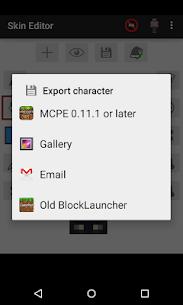 Skin Editor for Minecraft MOD 2.2.8 (Unlocked) APK 6