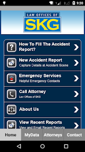 SKG Law Accident App- screenshot thumbnail