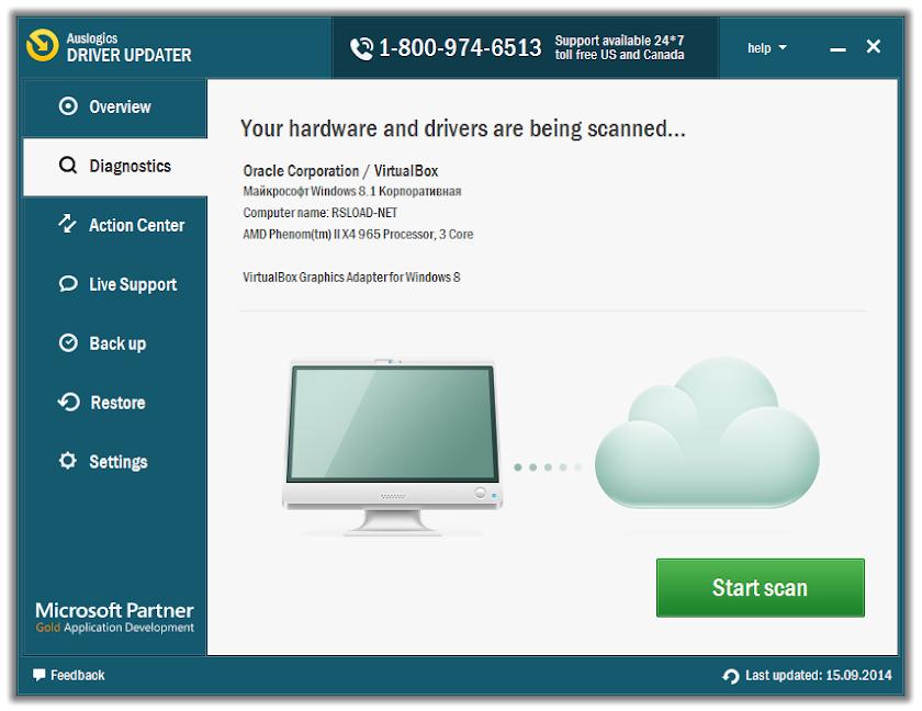 Phần mềm Auslogics Driver Updater