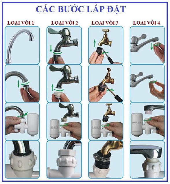 Bộ lọc nước sạch tại vòi mini Water Purifier