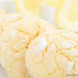 3 Ingredient Lemon Cookies