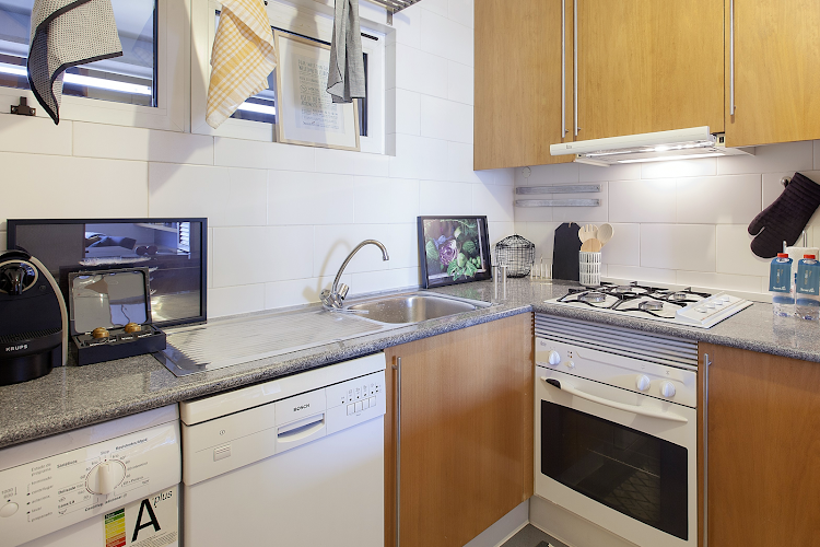 Fully equipped kitchen at Liberdade Executive