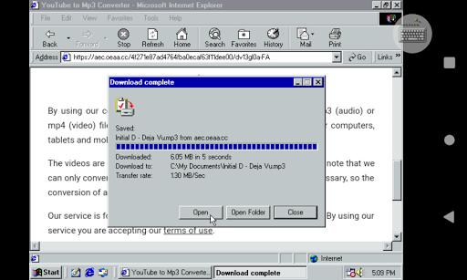 Win 98 Simulator 1.4.1 screenshots 24