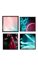 Neon Collage Frame - Photo Collage item