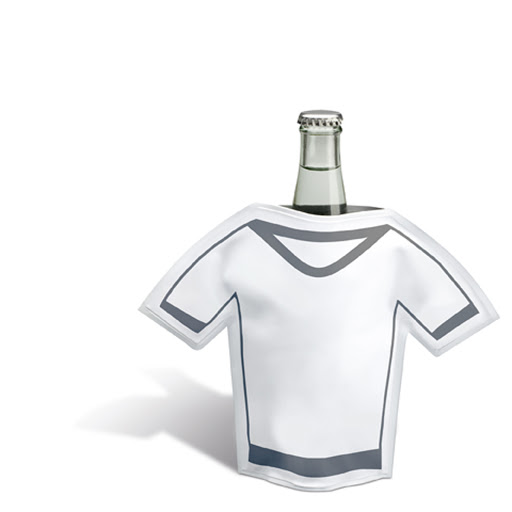 T-Shirt Shaped Bottle Cooler to Print