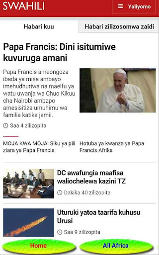 TANZANIA NEWS ONLINE 8.0 screenshots 2