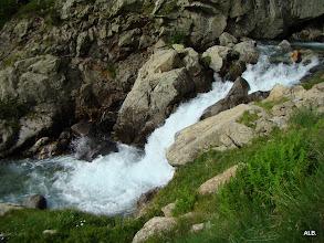 Photo: Río espumoso.
