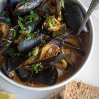 Cream Tomato Mussels Recipes.