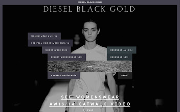Photo: Site of the Day 5 March 2013 http://www.awwwards.com/web-design-awards/diesel-black-gold