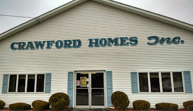 Photo: Crawford Homes Inc. in Houlton, ME proudly displaying their BBB Accreditation