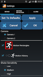 Motion Detector screenshot 3