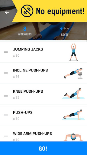 Home Workout - No Equipment 1.0.15 screenshots 5