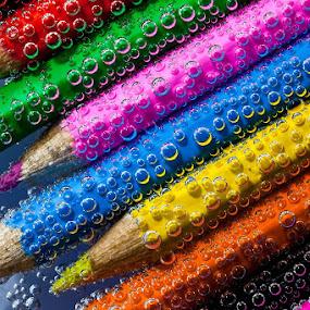 Bubble Rainbow by Daniela Maskova - Artistic Objects Other Objects