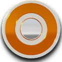 White Orange Icon Pack icon