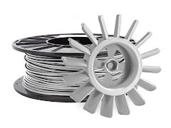 Silver PRO Series Tough PLA Filament - 1.75mm (1kg)