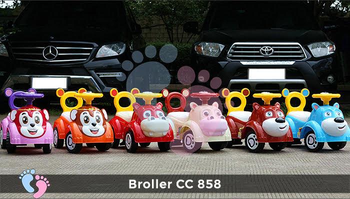 Xe chòi chân Broller CC-858 1
