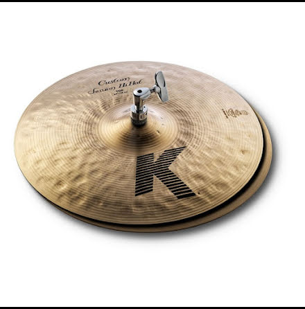 "14"" Zildjian K Custom  - Session Hats"