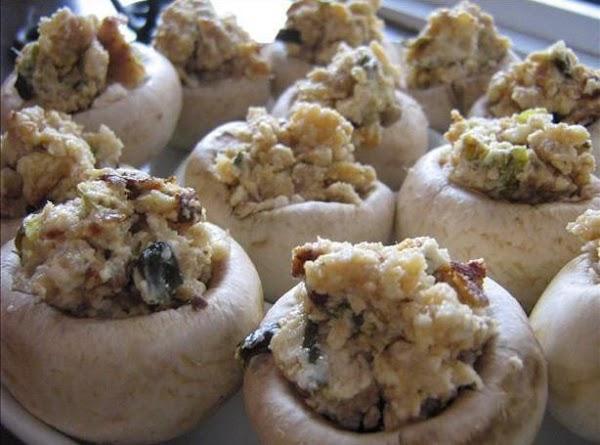 Blue Ribbon Stuffed Mushrooms Recipe
