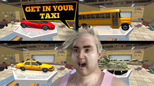 Toilet Racer: Taxi Game & Traffic Racer screenshot 2