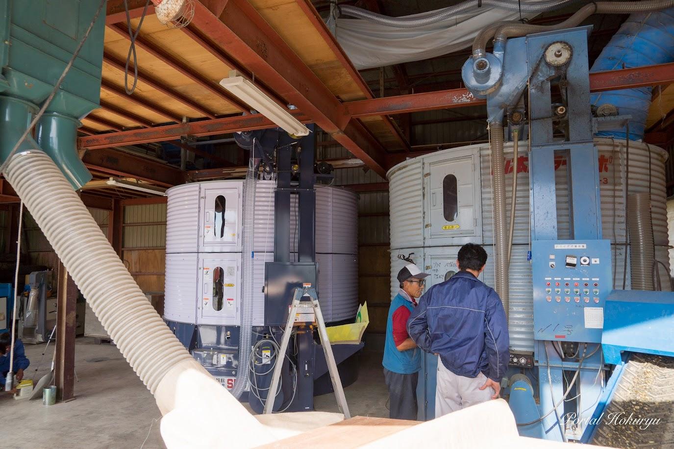 Ⅰ台増設された乾燥装置