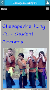 Chesapeake Kung Fu- screenshot thumbnail