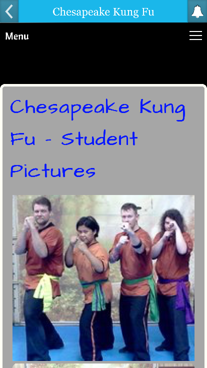 Chesapeake Kung Fu- screenshot