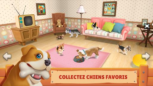 Chien Ville: Jeu animalerie & Jouer avec le Chien  captures d'écran 1