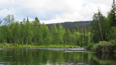 Photo: Nedre Svartselet mot Långforsen