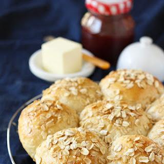 Honey-Oatmeal Rolls.