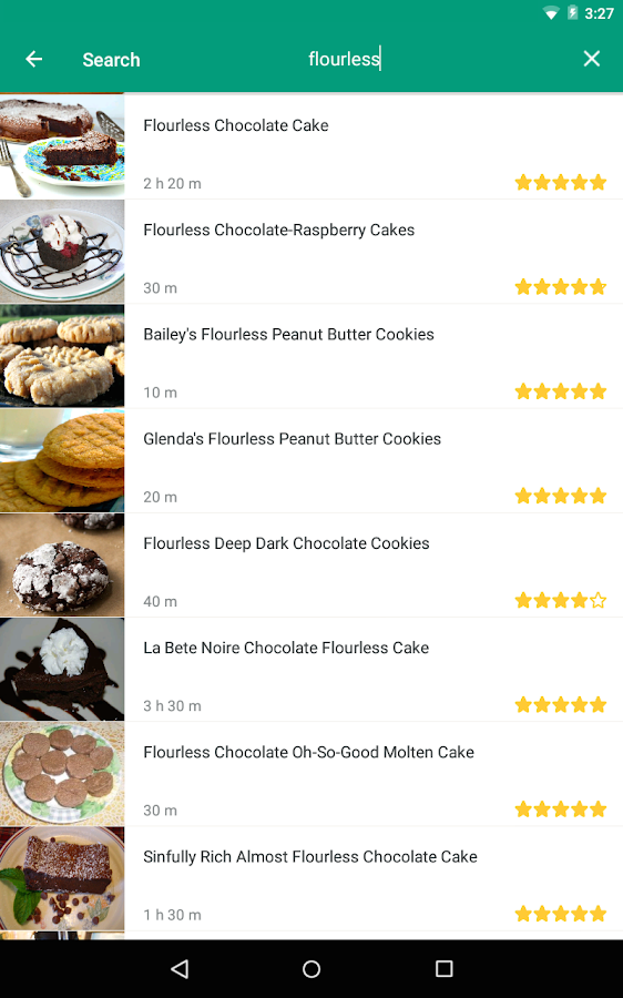 Food.com- screenshot
