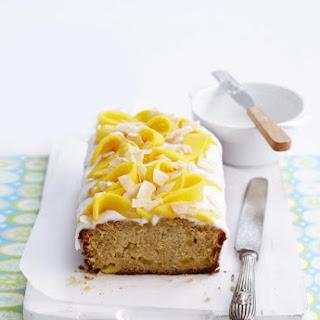 Mango Lime Pound Cake