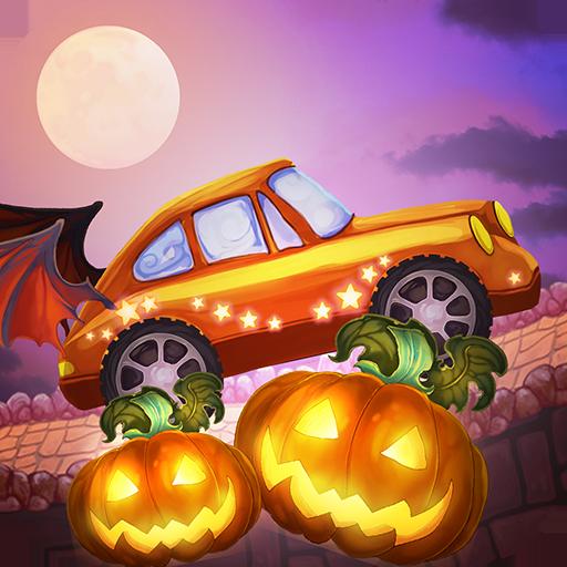 Halloween Cars: Monster Race 冒險 App LOGO-硬是要APP