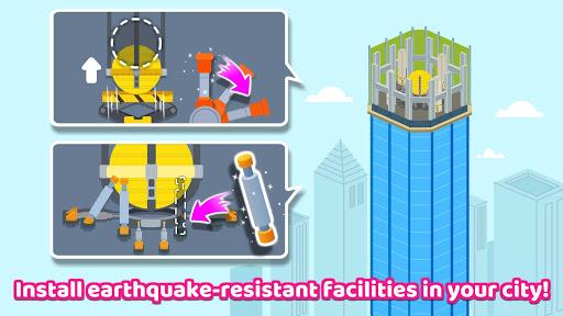 Baby Panda's Earthquake-resistant Building apktram screenshots 4