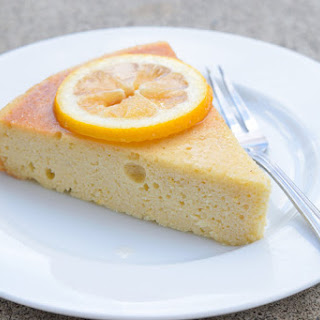 Low Carb Lemon Cake.
