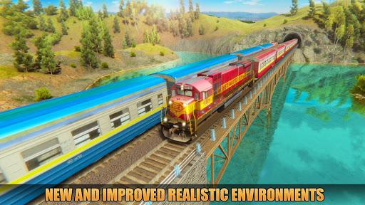 Indian Train Racing Simulator Pro: Train game 2019 image | 7