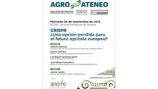 El programa de debates Agroateneo comienza el próximo miércoles 26 de septiembre.