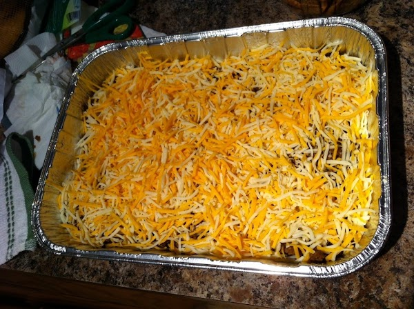 Place the assembled dish in a 400 degree oven for about 15-20 min or...