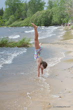 Photo: Cartwheel on the beach at Alburgh Dunes State Park by Raven Schwan-Noble