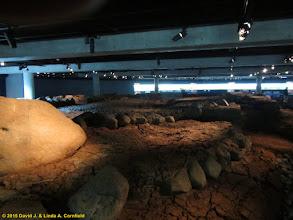 Photo: foundations of Viking era longhouse