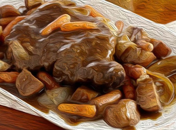 What's better on a cold Winter's evening than a good ole' pot roast...