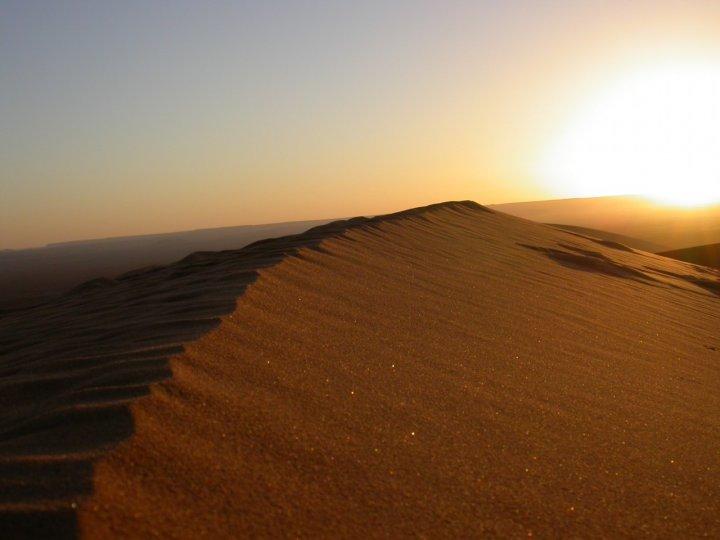 L'alba del Sahara di angelo
