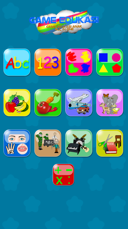Game Edukasi Anak : All in 1- screenshot