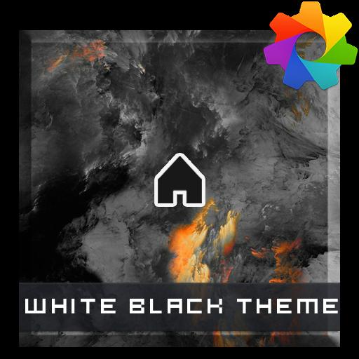White Black Theme For Xperia