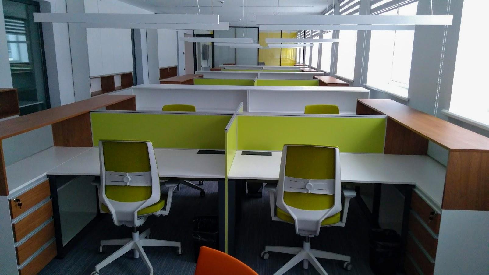 Рабочая модульная станция - Модульная офисная мебель, Металлические каркасы столов, Мебельные опоры ✆ 0679245444